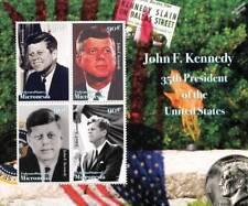 US President JFK / JOHN FITZGERALD KENNEDY 4v MNH Stamp Sheet (2008 Micronesia)