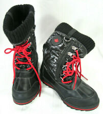 "Storm By Cougar Boys Girls Winter Waterproof Boots "" Cailey "" Sz 2"