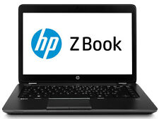 "HP Zbook 14 14"" Full-HD i7 3.3GHz 16GB 500GB SSD Laptop Ultrabook Windows 7"