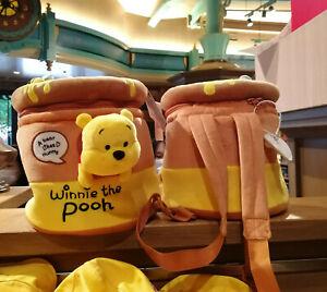 Disney Winnie the Pooh Honey Pot Backpack Pot plush Bag