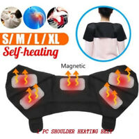 Shoulder Pad Belt Magnetic Therapy Thermal Self-heating Support Adjustable Strap