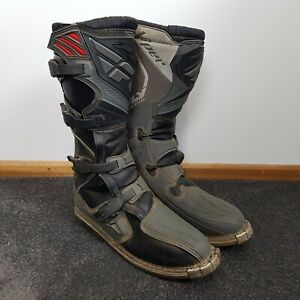 Fly Racing Viper Motorbike Boots Mens Size 14