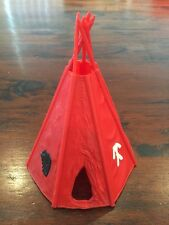 Timpo Indian Wigwam/ Teepee - Red - Wild West - 1970's