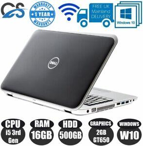"Dell Inspiron 7720 17"" LAPTOP CORE i5 3rd Gen 16GB RAM 128GB SSD 1TB HDD GT650M"