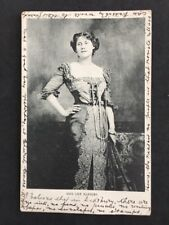 Vintage Postcard: People: Actress #A124: Miss Lily Hanbury: Posted 1903