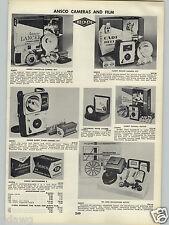 1962 PAPER AD Ansco Camera Lancer LG Cadet Royal Portable Typewriter Futura