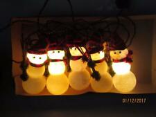 Vintage Holiday Highlights 10 Lights-5 Ornaments Snowman Lights Philippines