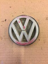 VW GOLF JETTA MK2 REAR ROUND VOLKSWAGEN BADGE EMBLEM 191853601G