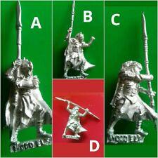 4x Eternal guard elf with spears wood elves citadel GW games workshop 7E 8E 8th