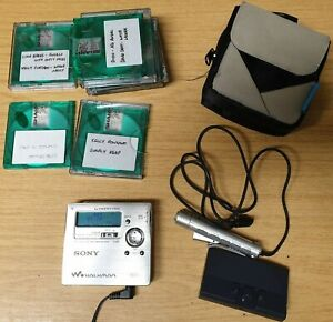 Sony MZ-R909 Mini Disc Walkman Used Good Working Condition (R4)