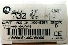 *NEW* Allen Bradley 700-HF32Z24 Ser. B DPDT 10A Relay