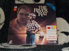 The River Rat Laserdisc LD Tommy Lee Jones Free Ship $30 Orders