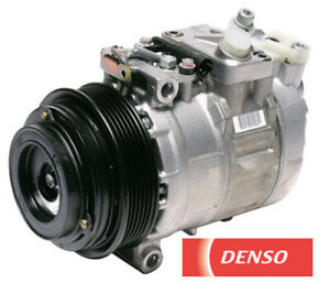 A/C Compressor with Clutch DENSO For Chrysler DODGE Mercedes-Benz With Oil