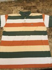 Polo Ralph Lauren Men Rugby Shirt Stripe Pony M Vintage 90s