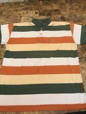 Polo Ralph Lauren Men Rugby Shirt Stripe Pony M Vintage 90s