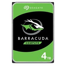 "Seagate BarraCuda 4TB SATA III 3.5"" Hard Drive - 5400RPM, 256MB Cache"