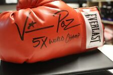 """VINNY PAZ SIGNED EVERLAST BOXING GLOVE JSA WITNESS PAZIENZA """"BLEED FOR THIS"""""""