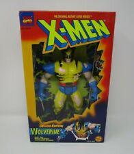 "Wolverine Battle Damage 1995 Deluxe Edition 10"" Uncanny X-Men MARVEL Toy Biz MIB"