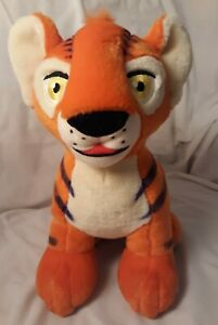 "Neopets Orange Kougra Plush 11"" Interactive Talking Tiger Stuffed Animal WORKS!"