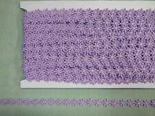 Guipure  Lilac Daisy Trim  5mts