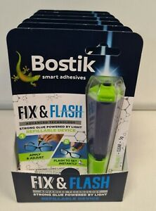Bostik Fix & Flash Adhesive UV Light Activated All Purpose 5g Glue x1 RRP £39.99