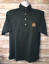Lyle And Scott Mens Green Royal Dormoch Golf Club Golf Polo Shirt Size M