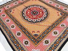 Grand Couvre-lit tribale Motifs indien Tenture Coton Inde Boho Hippie Décor T1