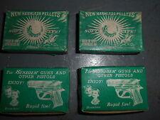 Vintage Lot/4 Sekiden 320 Vinyl Pellets In Orig Boxes Size M68 Item #SS80 NOS
