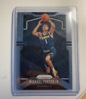 2019-20 Panini Prizm MICHAEL PORTER JR.  2nd Year Card Hot #88 Denver Nuggets