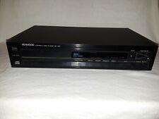 Vintage Kenwood Dp-460 Single Disc Cd Player Tested