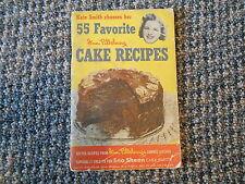 Old Vintage 1952 Kate Smith 55 Favorite Ann Pillsbury Cake Recipes Sno Sheen