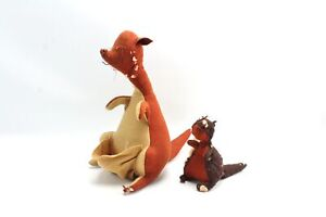 Vintage Agnes Brush KANGA & BABY ROO Winnie the Pooh Plush Handmade Toy