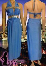 STUNNING 007 Bond Girl Look Sexy Evening Dress ~ Sequinned Waistline - New!