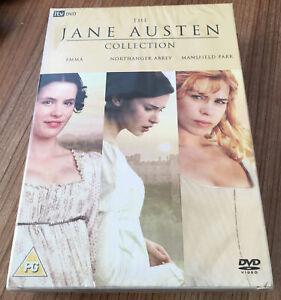 The Jane Austen Collection DVD (2007, 3 Disc Set) Cert PG Region 2 UK