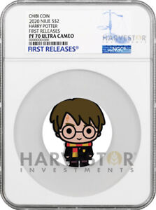2020 CHIBI COIN - HARRY POTTER SILVER COIN - NGC PF70 FIRST RELEASES - SECOND