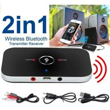 2 in 1 Bluetooth Transmitter Receiver Wireless A2DP for TV Stereo Audio Adapter`
