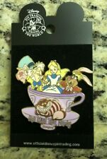 Disney Alice In Wonderland Mad Tea Party  3D Pin