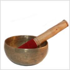 Klangschalen Schlägel Schläger Schlegel Klöppel 15 cm mit Leder zum Reiben Gong