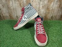 CONVERSE PRO LEATHER VULC MID 148491C Trainers Sneakers Strips Size 6 UK 40 EUR