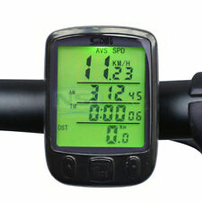 Waterproof Digital LCD Cycle Bicycle Bike Computer Odometer Speedometer Cycling