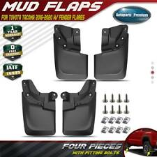 Mud Flaps Splash Guards Mudguard for Toyota Tacoma 2016-2020 Front Rear Set Of 4