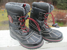 Totes Winter Survivor Kids Snow Boots Insulated Weatherproof Size 13 Toddler