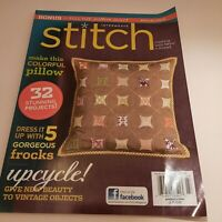 Interweave stitch Magazine Fall 2012 32 projects Bend on cover Preowned
