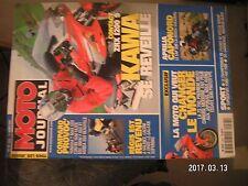 ** Moto Journal n°1463 Kawazaki ZRX 1200 S / Aprilia 1000 Caponord