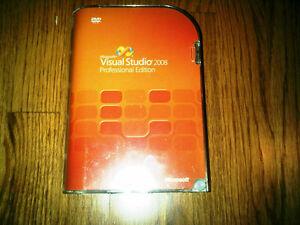 Microsoft Visual Studio 2008 Professional, SKU C5E-00245, Retail Box, Full