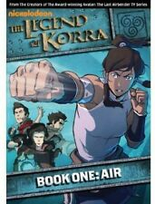The Legend of Korra: Book One - Air (DVD, 2013, 2-Disc Set) Nickelodeon