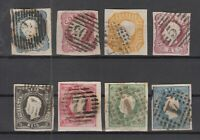 BN6701/ PORTUGAL – 1856 / 1867 USED CLASSIC LOT - CV 345 $