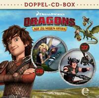 DRAGONS-AUF ZU NEUEN UFERN - DRAGONS-DOPPEL-BOX-FOLGEN 36+37  2 CD NEU