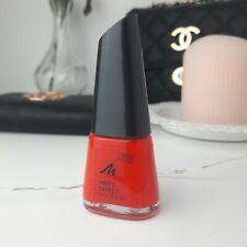 Manhattan Matt Effect Nail Polish N° 011 DRAGON FRUIT Rot Hell Klassisch