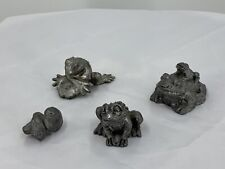 R.B. Pewter & Other Frog Figurines